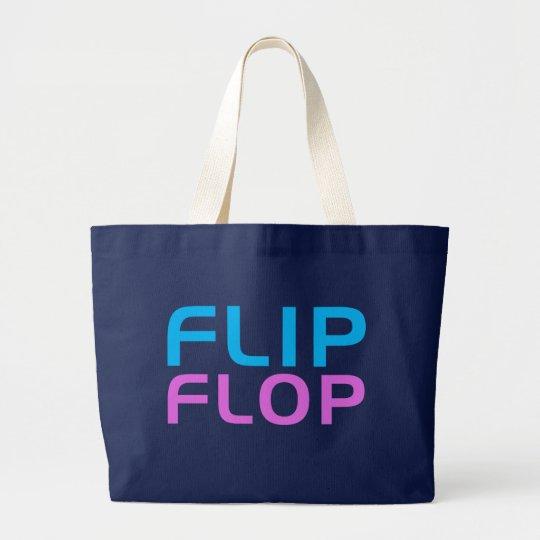 Flip Flop Large Tote Bag