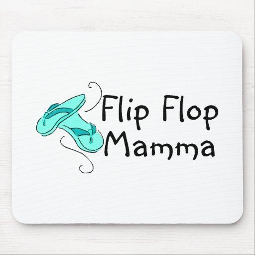 Flip Flop Mamma Mouse Pads