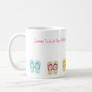 Flip Flop Classic White Coffee Mug