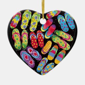 Flip-flop ornament