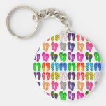 Flip Flop Parade Key Chains
