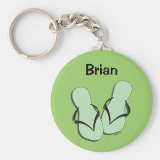 Flip Flop Parade Keychain