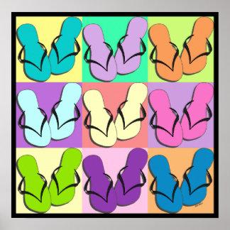 Flip Flop Parade Poster