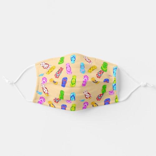 Flip Flop Pattern Cloth Face Mask