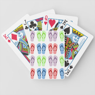 Flip Flop Pattern Playing Cards