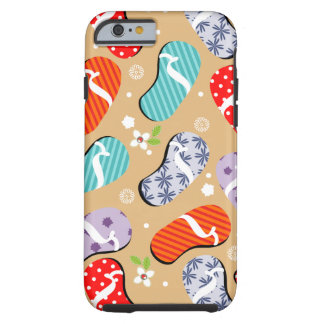Flip-Flop Pattern Tough iPhone 6 Case