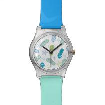 Flip Flop Pattern Wrist Watch
