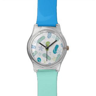 Flip Flop Pattern Wristwatch