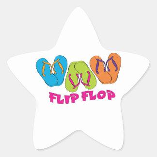 Flip-flop Colcomanias Forma De Estrellaes Personalizadas