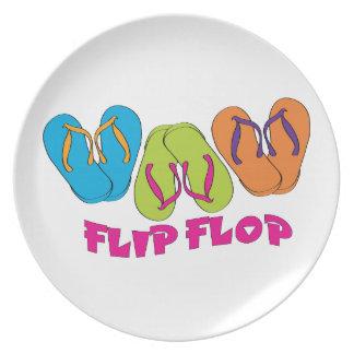 Flip Flop Party Plate