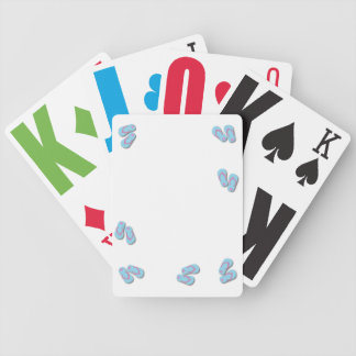 Flip Flop Playing Cards - CUSTOMIZE TEXT