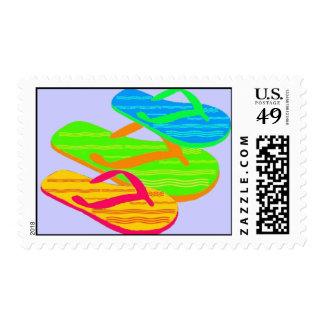 flip-flop postage stamps