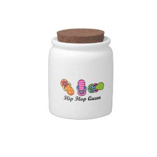 Flip Flop Queen Candy Dish