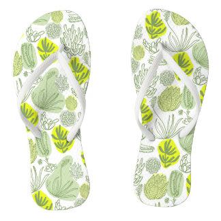Flip Flop Summer Succulent Flip Flops