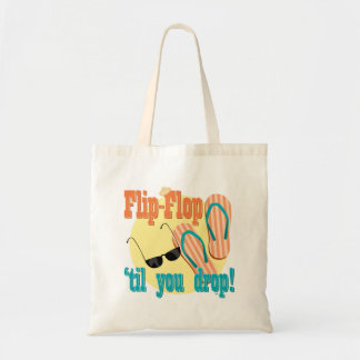 Flip Flop 'til You Drop Canvas Bag