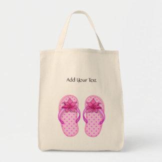 Flip Flop Tote by SRF Grocery Tote Bag