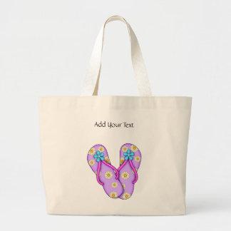 Flip Flop Tote by SRF Jumbo Tote Bag