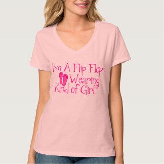 Flip FLop Wearing Kind of Girl Tshirt