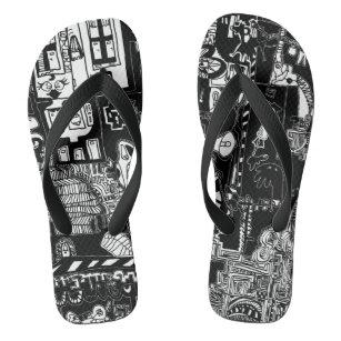 b9137f9aa45 Crazy Sandals & Flip Flops | Zazzle