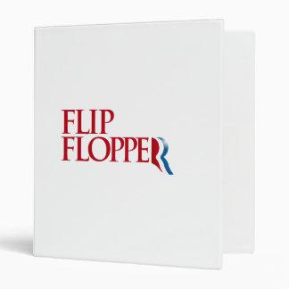 Flip Flopper 3 Ring Binders