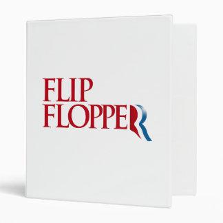 Flip Flopper 3 Ring Binder
