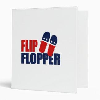 Flip Flopper Romney Binder