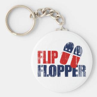 Flip Flopper Romney.png Basic Round Button Keychain