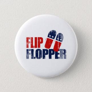 Flip Flopper Romney.png Pinback Button