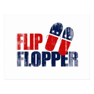 Flip Flopper Romney.png Postcard