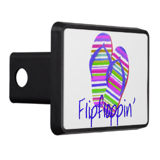 Flip floppin' tow hitch cover