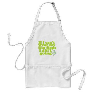 flip flops adult apron
