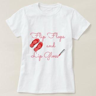 Flip Flops and Lip Gloss T-Shirt