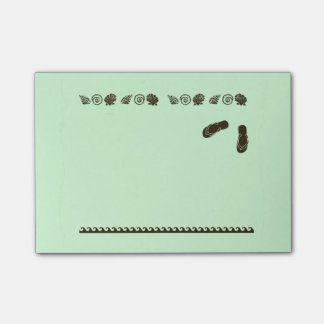 Flip Flops and Sea Shells Post-it® Notes