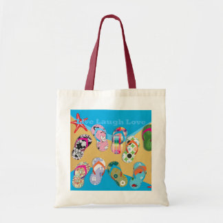 Flip Flops Bag Budget Tote Bag