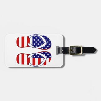 Flip flops bag tag