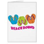 Flip Flops Beach Bound Card