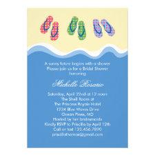 Summer Bridal Shower Invitations Seasonal Showers