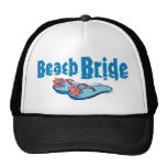 Flip Flops Beach Bride Trucker Hat
