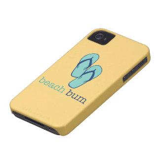 Flip Flops Beach Bum iPhone 4 Case