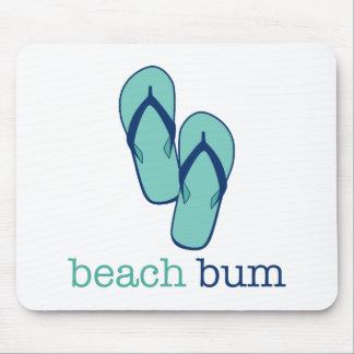 Flip Flops Beach Bum Mousepads