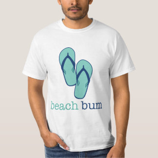 Flip Flops Beach Bum T-Shirt