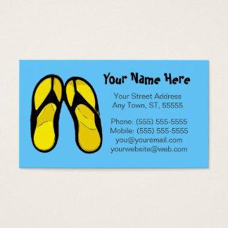 Flip Flops Business Card