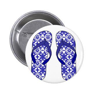 Flip Flops Pinback Button