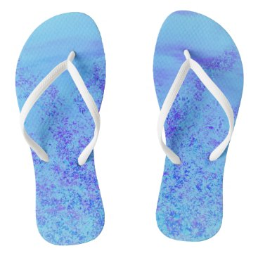 Beach Themed Flip Flops by Jane Howarth
