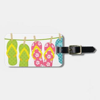 Flip-Flops ClothesLine Luggage Tag