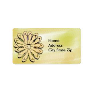 Flip Flops Customizable Adress Labels