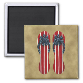 Flip Flops Flag Magnet