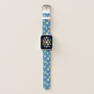 Flip Flops Flowers Palm Trees Apple Watch Band