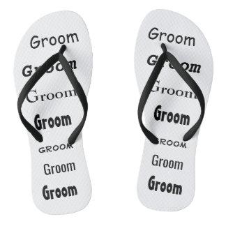 Flip Flops for Groom