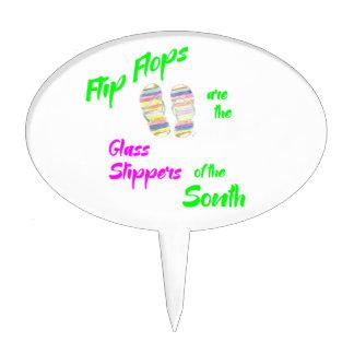 Flip flops for T Cake Topper